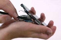iPhone в разобранном виде 7