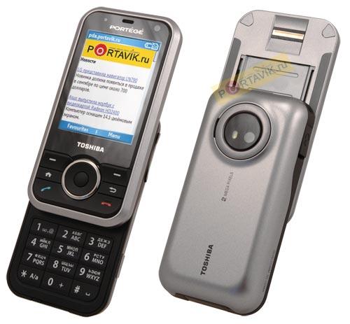 Обзор смартфона Toshiba Portege G500