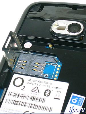 O2 XDA Flame: SIM-карта
