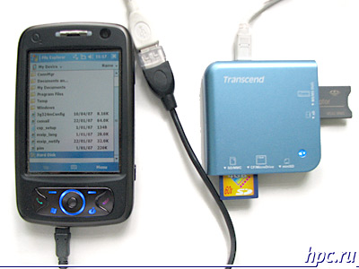 O2 XDA Flame: USB-host