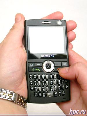 Samsung SGH-i600: в руках