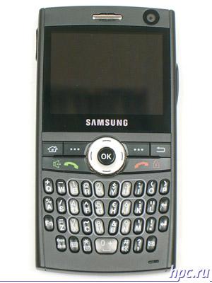 Samsung SGH-i600: вид спереди