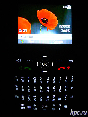 Samsung SGH-i600: подсветка клавиатуры
