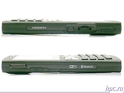 Samsung SGH-i600: вид сбоку