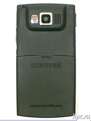 Samsung SGH-i600: вид сзади