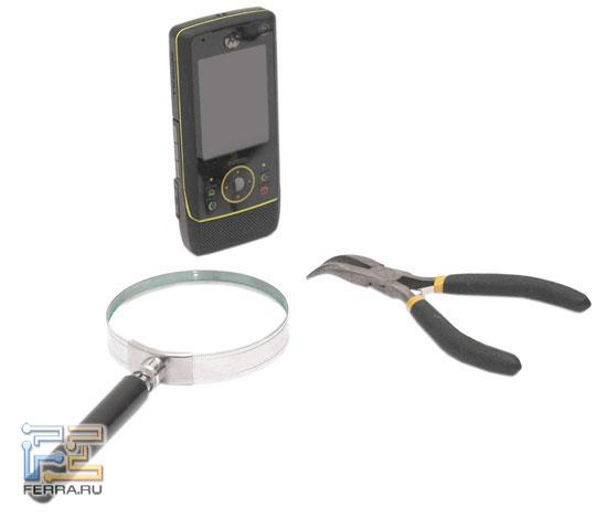 Motorola RIZR Z8 в тестлабе Ferra.r