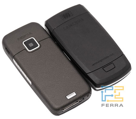 Сравнение Nokia E65 и Samsung i520 3