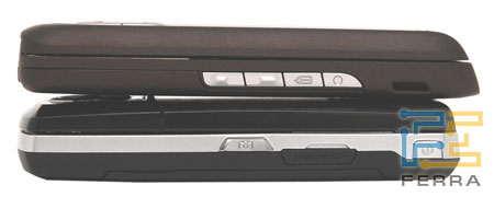 Сравнение Nokia E65 и Samsung i520 4