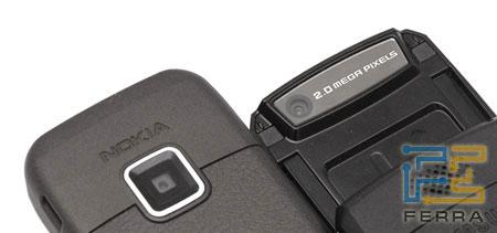 Сравнение Nokia E65 и Samsung i520 6