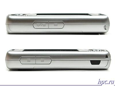 RoverPC G6: вид сбоку