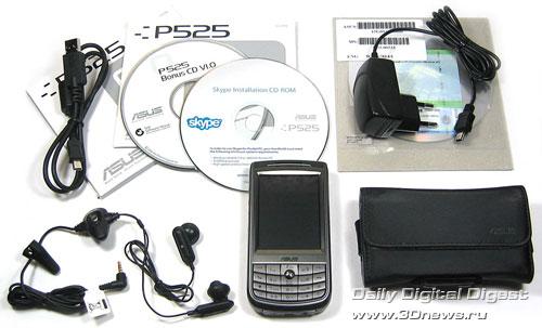 Комплектация ASUS P525