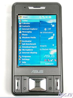 Asus P535: экран