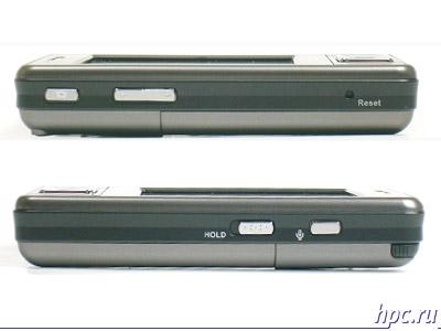 Asus P535: левый и правый торцы