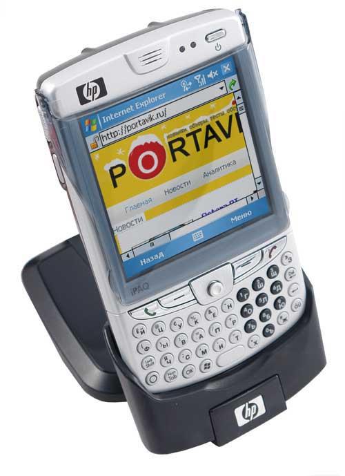 HP iPAQ hw6910 внешний вид