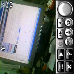 HP iPAQ hw6910 пример фото