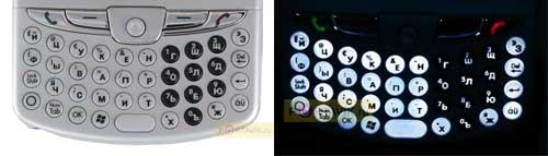 HP iPAQ hw6910 клавиатура