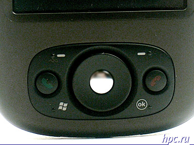 Qtek s200: блок управляющих клавиш под экраном