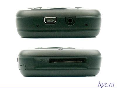 Qtek s200: нижний и верхний торцы