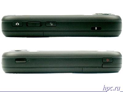 Qtek s200: левый и правый торцы
