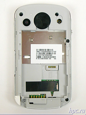 HTC P3600 (Trinity): со снятым аккумулятором