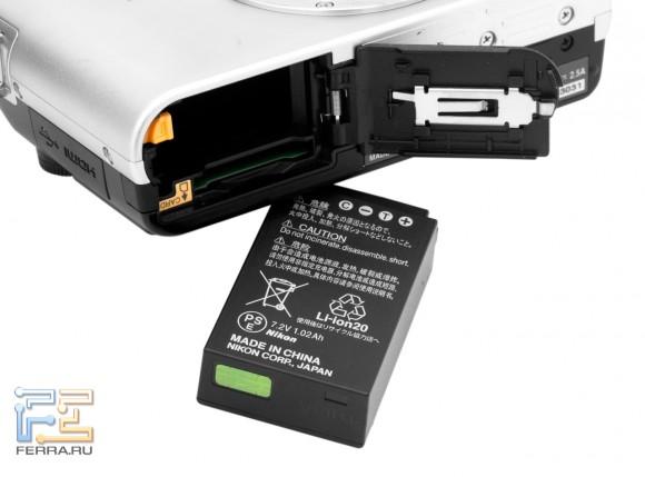 Nikon 1 J1, ,батарея
