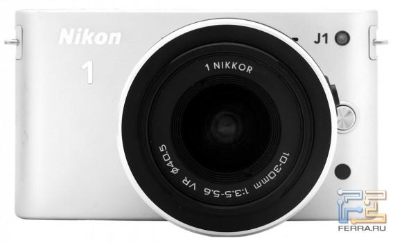 Nikon 1 J1, лицевая часть