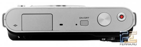 Nikon 1 J1, верхняя часть камеры