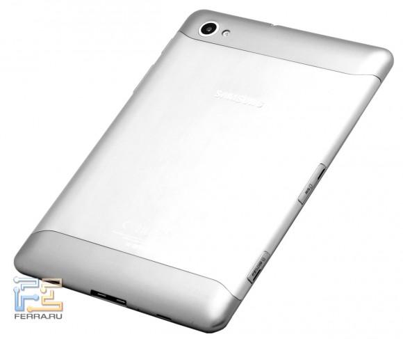 Samsung Galaxy Tab 7.7, вид сзади