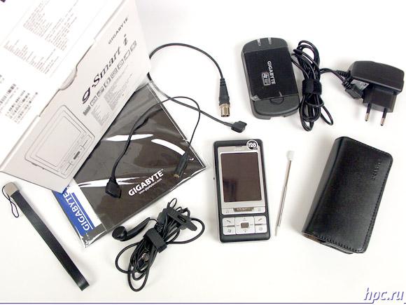 Gigabyte g-Smart i128: комплект