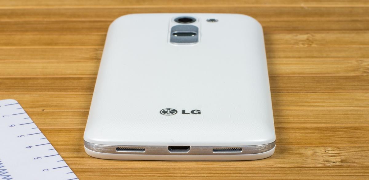 Эргономика LG G2 mini
