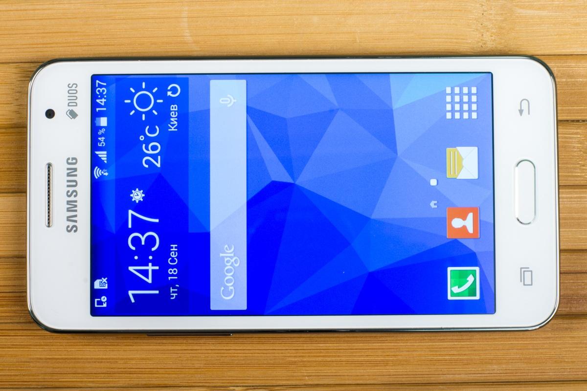 Корпус Samsung Galaxy Core 2