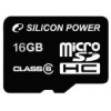 Карта памяти Silicon Power microSDHC Class 6 16GB