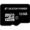 Карта памяти Silicon Power microSDHC Class 10 16GB