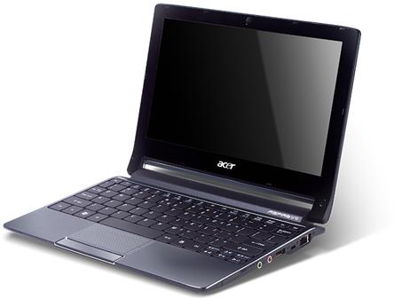 Acer Aspire One 533 - 10 дюймов нетбука на 10 часов автономной работы 16267_1