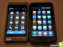 Сравнение дисплеев Galaxy S и Nokia N8, а также интерфейс N8