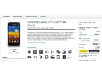 Samsung Epic 4G Touch уже доступен на Sprint.com
