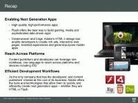 Adobe Flash Player 11 с поддержкой 3D появится в октябре