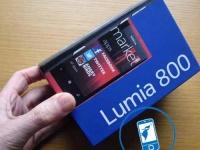 Распаковка Nokia Lumia 800