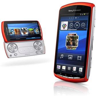 Оранжевый Sony Ericsson Xperia Play