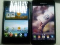 LG Optimus Vu сравнивается со своим конкурентом
