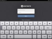 Обзор приложения Vkontakte для iPad