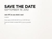 HTC планирует анонсировать свои WP8-смартфоны 19 сентября