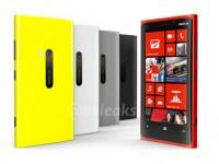 Nokia Lumia 920 будет продаваться в пяти цветах корпуса
