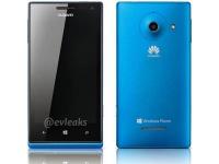 Как выглядит первый WP8-смартфон Huawei на рендерном фото