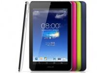 Asus готовит модификацию планшета MeMO Pad 7 ME175KG с поддержкой dual SIM