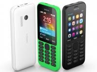 Компания Microsoft представила доступный мобильный телефон Nokia 215