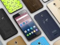 IFA 2015: ALCATEL ONETOUCH Pop Star и Up - смартфоны с возможностью кастомизации внешнего вида