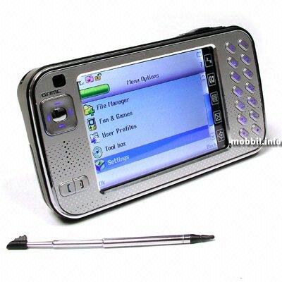 Китайская версия N800 - без Wi-Fi, зато с функциями телефона