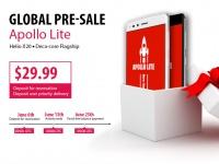 Vernee Apollo Lite – открытие предзаказа и скидка в $30