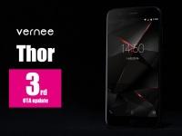 Vernee анонсировала третье OTA-обновление для смартфона Thor